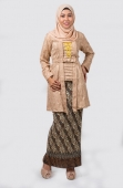 Ines Glitter kebaya Tunic with Pleat Skirt